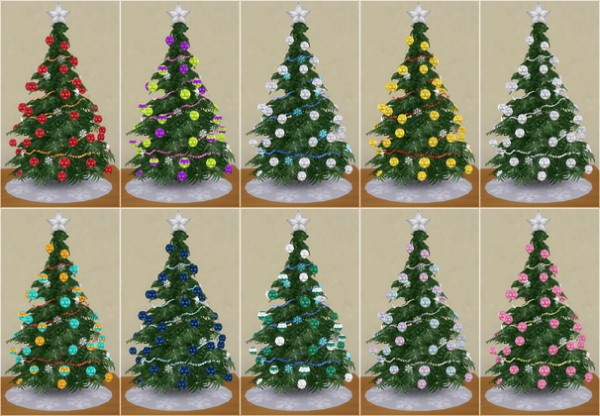 Veranka Christmas Tree Lamp Sims 4 Downloads
