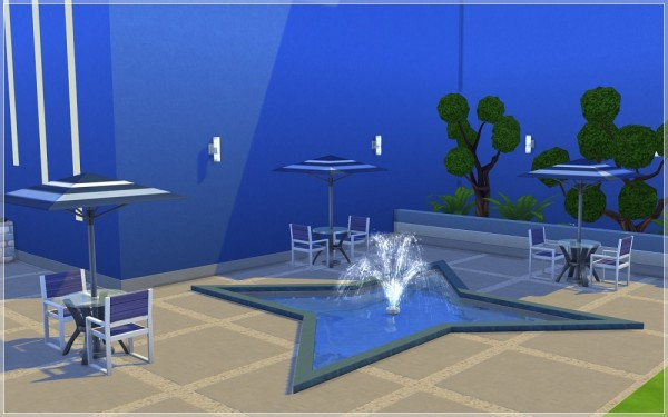 Ihelen Sims: Night club Blue Bird