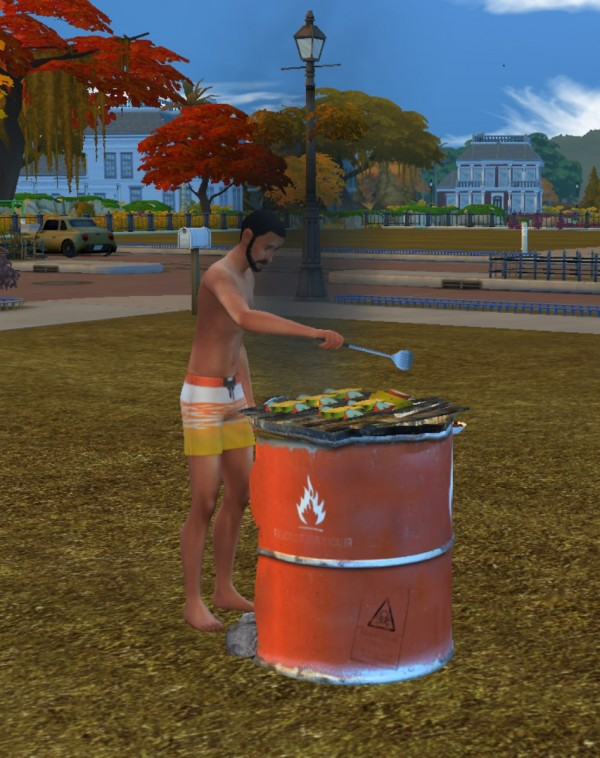 Mod The Sims: The Loudon Effluvia Pinnacle Grill by g1g2