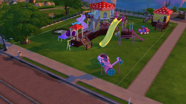 Sanjana Sims: Joyful Kids Playground Set