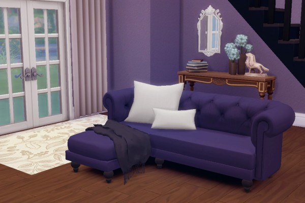 Hamburgercakes Life In A Forest Corner Sofa Sims 4