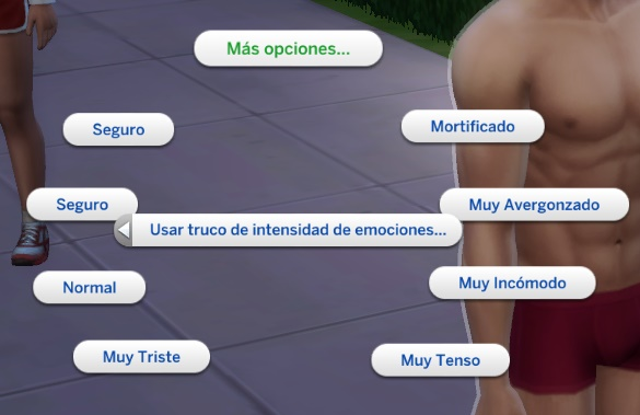 Mod The Sims: No blank bubbles/Translation for Debug Cheats by fran89