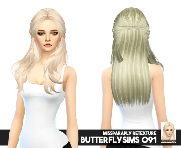 Miss Paraply: Masterpost: updated hairs for round two