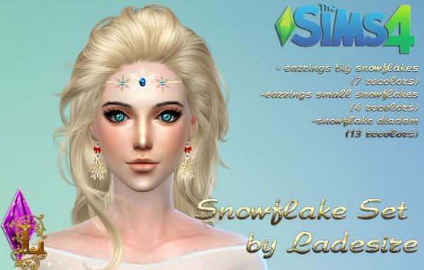 Ladesire Creative Corner: Snowflake Accessories