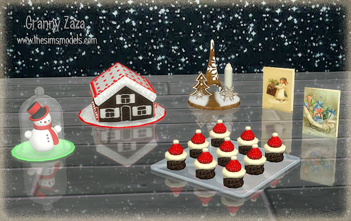 The Sims Models: Merry Christmas! Set by Granny Zaza