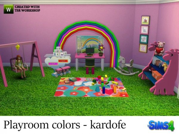 The Sims Resource: Playroom colors by kardofe