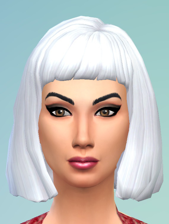 Birkschessimsblog Bob With Short Bangs Hairstyle Sims 4