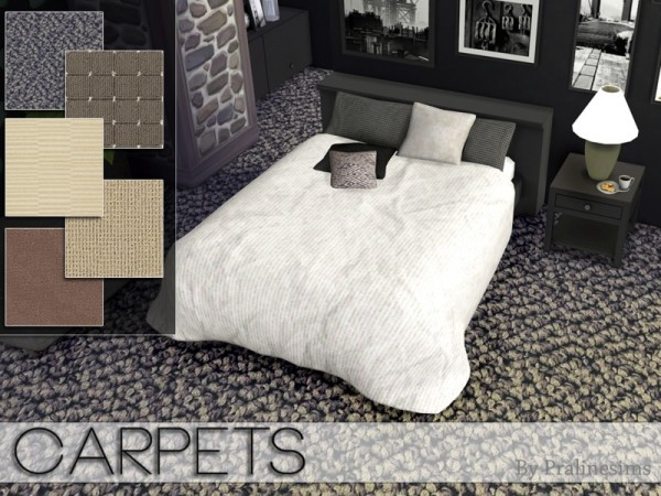 The Sims Resource: Carpets by Pralinesims