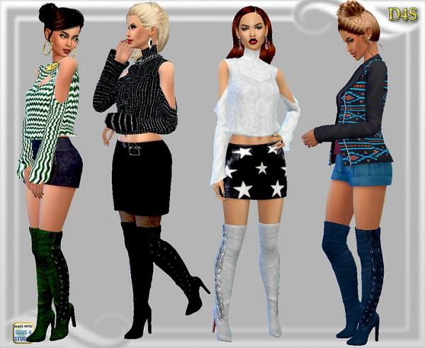 Dreaming 4 Sims: Rimini boots