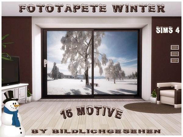 Akisima Sims Blog: Winter walls
