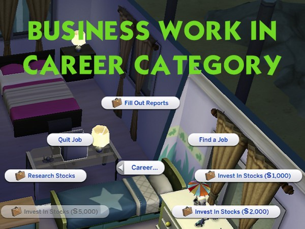 sims 4 business reports