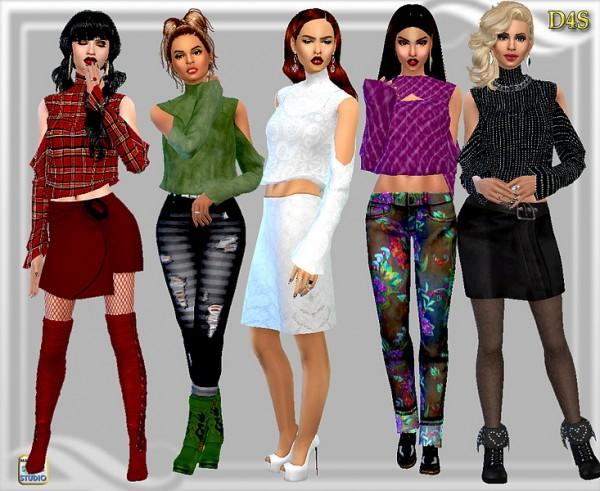 Dreaming 4 Sims: Kaliah Blouse