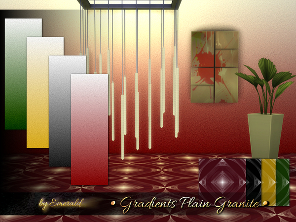 The Sims Resource: Gradients Plain Granite by Emerald