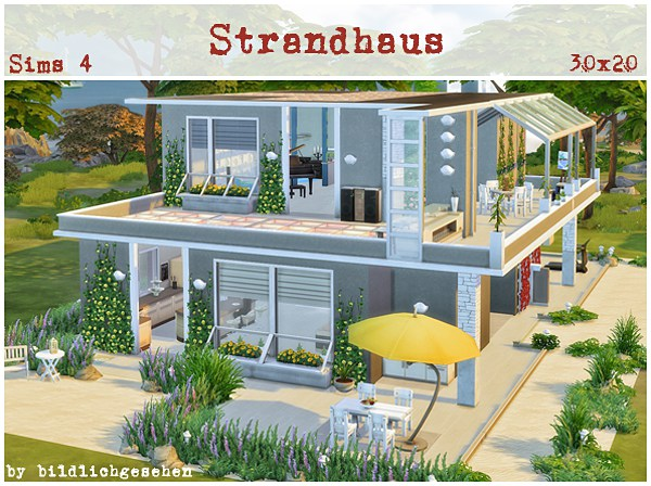 Akisima Sims Blog Beach House Sims 4 Downloads