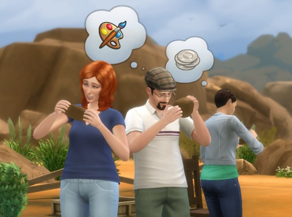 Mod The Sims: Craftable Pottery by plasticbox