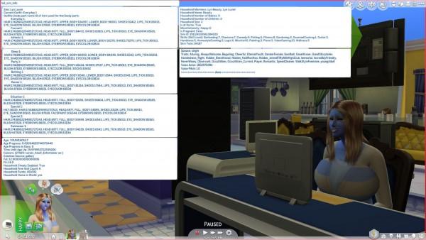 Mod The Sims: List Sim Information by Lynire