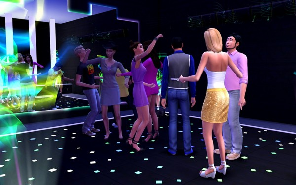 Ihelen Sims: Night club Ombre