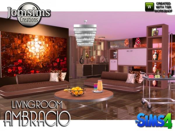 The Sims Resource: Ambracio livingroom by jomsims
