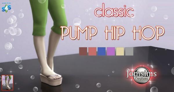 Jom Sims Creations: Classic pump hip hop