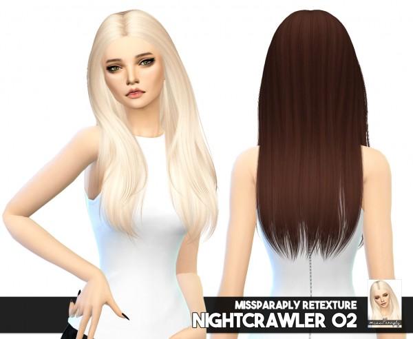 Miss Paraply: 3 hair retextures