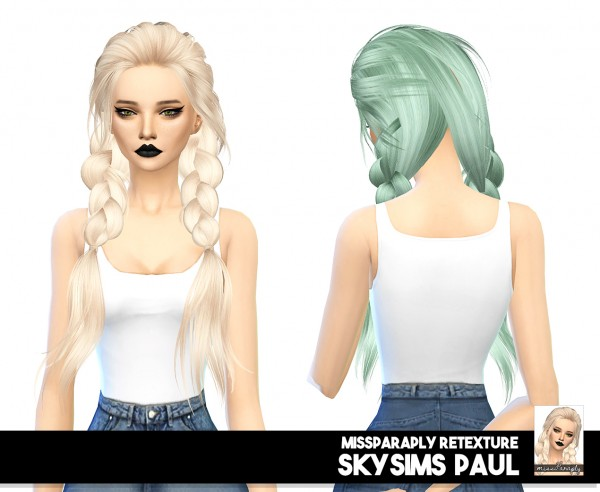 Miss Paraply: Skysims Paul: solids