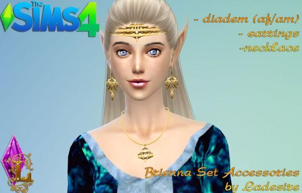 Ladesire Creative Corner: Brienna Accessories Set