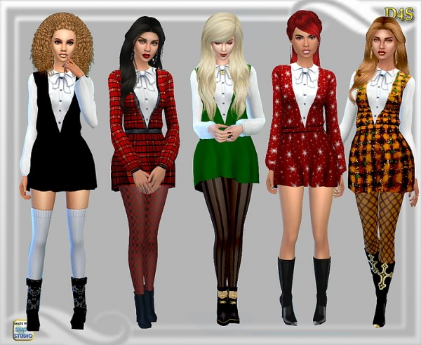 Dreaming 4 Sims: Goning home short dress
