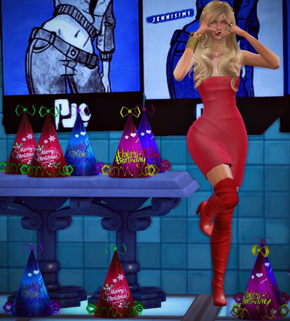 Jenni Sims: Decoration Party Hats