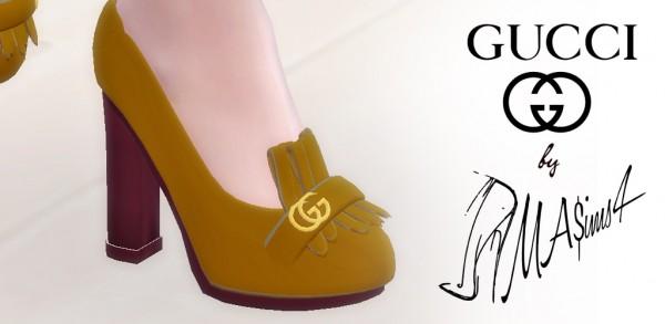 MA$ims 3: High heel loafers