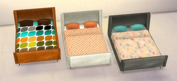Sims 4 designs mid century modern bedroom sims 4 downloads for Bedroom designs sims 4
