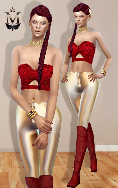 MissFortune Sims: Christmas collection