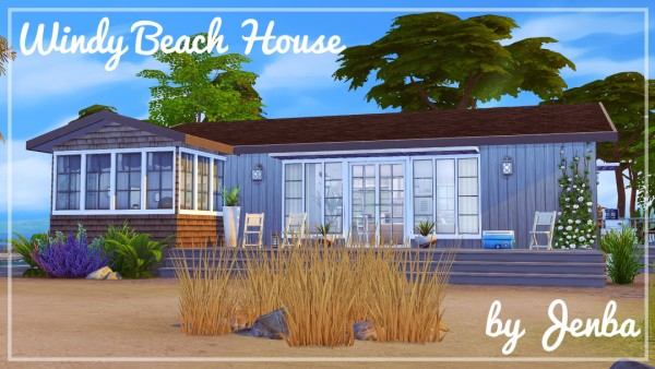 Jenba Sims: Windy beach house