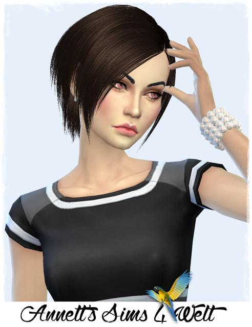 Annett`s Sims 4 Welt: Model Kira