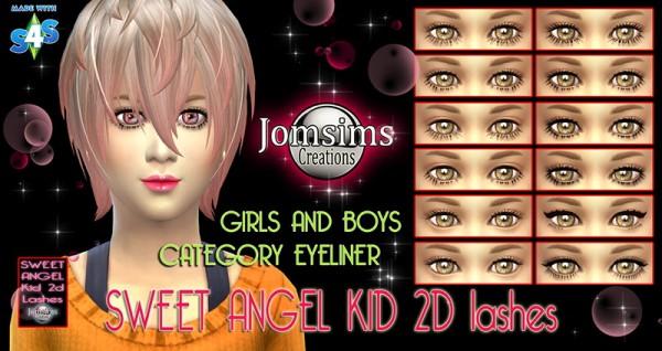 Jom Sims Creations: Sweet angel eye mask and face modeler