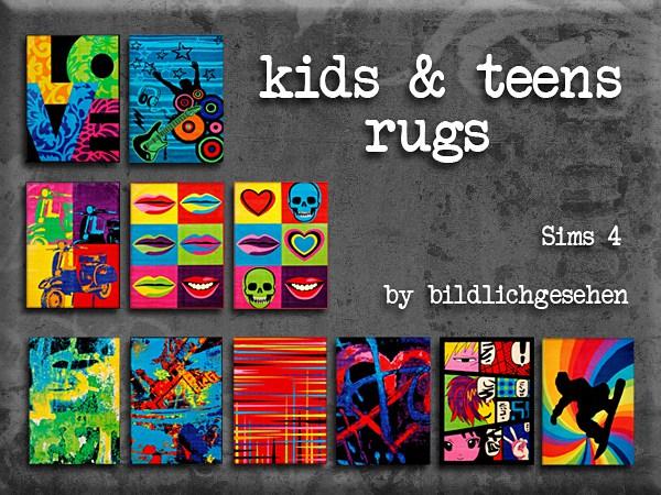 Akisima Sims Blog: Kids and teens rugs