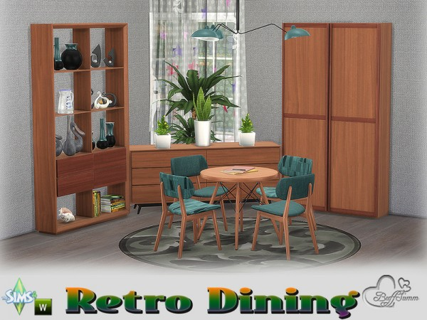 The sims resource retro diningroom by buffsumm sims 4 for 3 star living room chair sims