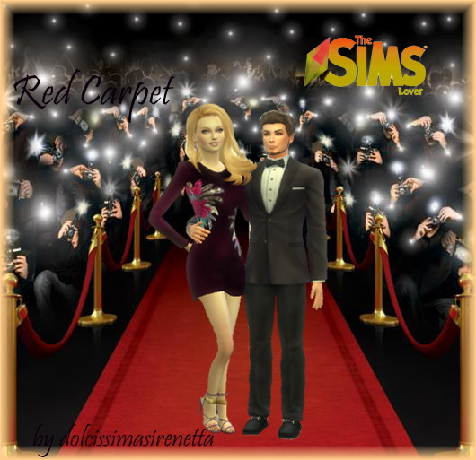 The Sims Lover Red Carpet Couple Poses By Dolcissimasirenetta