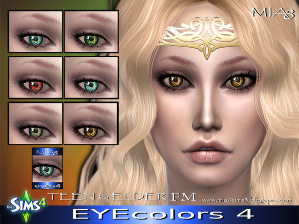 The Sims Resource: Eyes 4 by Mia8