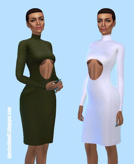 Sims Fashion 01: Elegant Dress