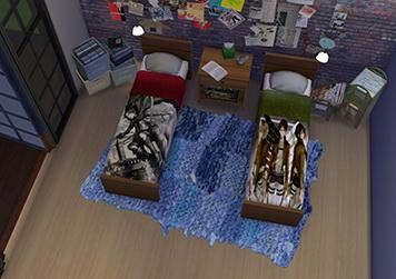 Enure Sims: Shingeki no Kyojin Beds