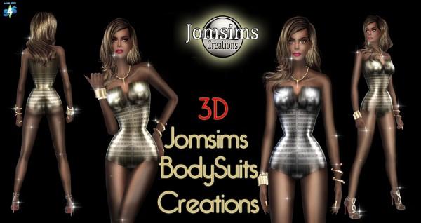 Jom Sims Creations: Bodysuits Creations 1 &2