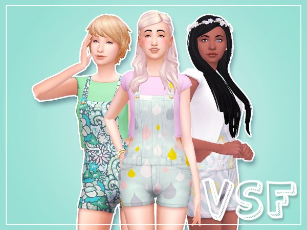 Simsworkshop: Overall Overhaul recolored by Nilla
