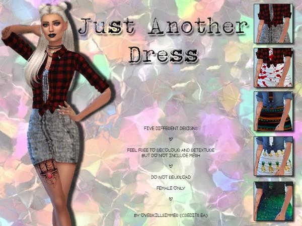 Simsworkshop: Just Another Dress by OverkillSimmer