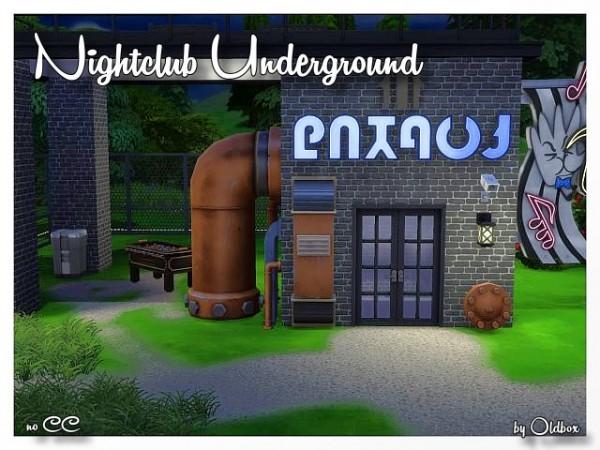 All4Sims: Dress, walls and nightclub by Oldbox