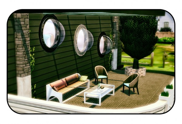 Sims 4 Designs: Round Van/Boat Bubble Windows