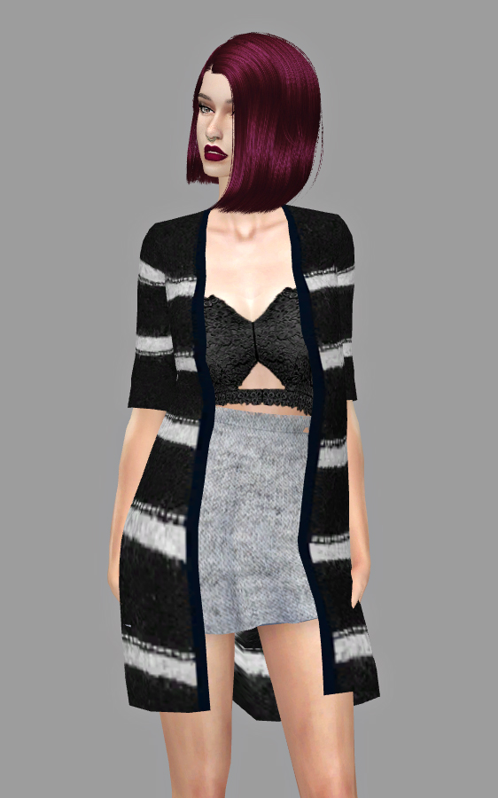 kenzar sims nicole cardigans � sims 4 downloads