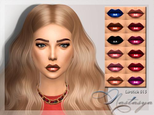 Nastas`ya: Lipstick 013