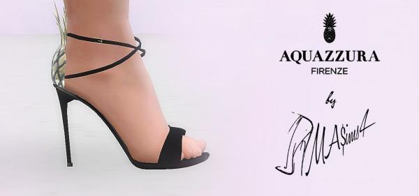 MA$ims 3: Aquazzura Piña Colada Sandals