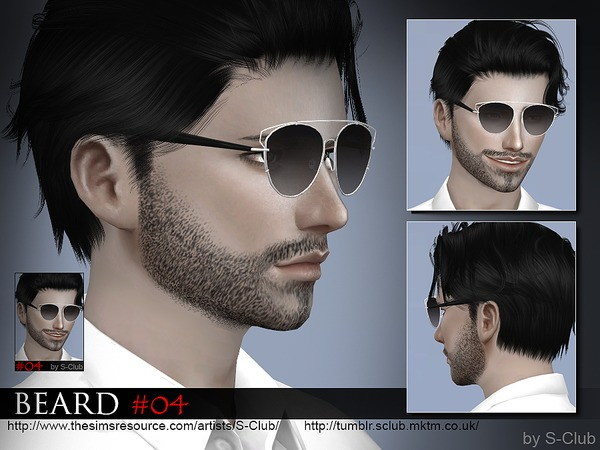 The Sims Resource: Beard 04 by S Club