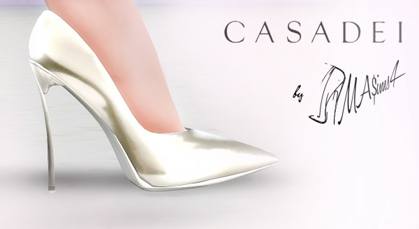 MA$ims 3: Casadei Blade Stiletto Pumps